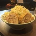 56057955 - ラーメン小700円野菜ニンニク