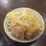 56057966 - ラーメン小700円野菜ニンニク