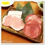 56059189 - レディースランチ(おもにタン塩40g、豊熟もち豚カルビ40g、豊熟もち豚ロース40g)