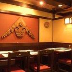 相州鳥ぎん - テーブルの席