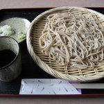 福聚庵 - 料理写真:もりそば ¥600