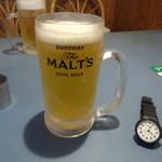 グラッチェガーデンズ  - 生ビール