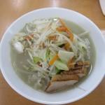 富白 - 鶏塩ぶたタンメン・大