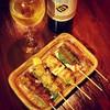 炭火焼 直島 - 料理写真:焼鳥には、ワインがおすすめ。