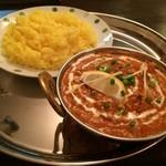 ネパール・インドレストラン&バー クオリティー - レモンチキン+ターメリックライス