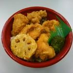 北国旬菜 ななかまど - 料理写真:鶏天丼