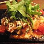 ホナセンダイ - トマトお好み焼き