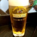 和伊んバル 3751 - グラスビール