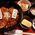 とんすけ - 豚丼MIXセット(バラ)1,050円 2016/09