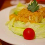 56075042 - 島豆腐のサラダ