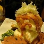 しぶやくん - 塩辛のせマッシュポテト 580円