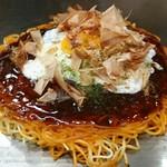 56077659 - 肉玉ピリ辛麺Wパリパリベース