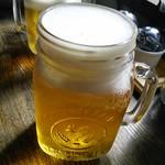 56077738 - ビール、こんなグラスで登場です。