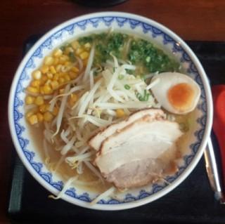 味噌屋 三男坊 - さっぽろ味噌らーめん730円(味普通・油普通・麺普通)/平成28年9月