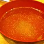 鳥樹 - 鳥スープ(サービス)