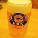鳥樹 - 生ビール