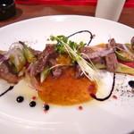 RAROOM - 国分町バルのイベントメニュー。お肉たっぷり!ソースが美味しい!