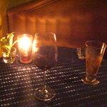 5608148 - カップルシートのテーブル