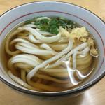 川中 - 料理写真:かけうどん(*´д`*)200円