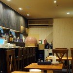 魚屋のピザ屋 ALBERO - 店内