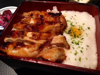 焼鳥 Ryoma - とろろと鶏の照りが食欲をそそる!