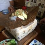 仁太郎 - 昼食は近くの岩根屋さんで❗️