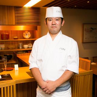 黒岩料理長がつくる和食の数々