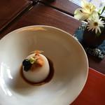 56086234 - 蕎麦豆腐ウニのせ