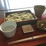 56086237 - 梅たたきの水蕎麦