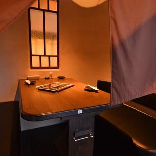 ◆テーブル個室充実♪『こじゃれ』×『個室』×『おしゃれ』