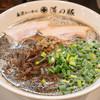 道の豚 - 料理写真:2016.9 らーめん黒(830円)