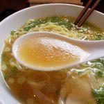 麺や 二代目 とりかま - スープ