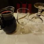 トラットリア イル ピスタッキオ - 赤ワイン