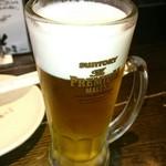 福みみ - 生ビール。