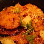 ゆずりは - 豚肉の味噌漬けのセット
