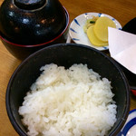 天竹 - お昼は天ぷら定食を頼んだ。