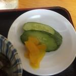 小鳥食堂 - 漬物【料理】