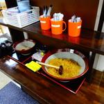 宝製麺所 宝うどん - 無料トッピング