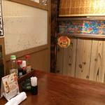 56094730 - 店内(テーブル席)