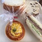 チットチャットサーカス - 購入したパン!