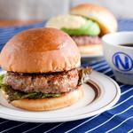 肉が旨いカフェ NICK STOCK - モーニングは全品ドリンク付きで380円(+税)~