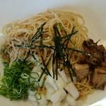 焼あご煮干ラーメン きち - 和え麺