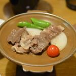 油屋熊八亭 - 国産牛陶板焼き