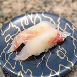 廻る寿司めっけもん - 黒鯛