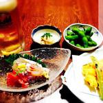 福もと - ちょい飲みセット 1200円(税込)