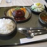 561849 - ハンバーグ定食 2008/6