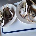 松島串や - 焼き牡蠣500円×2皿