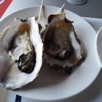 松島串や - 焼き牡蠣500円