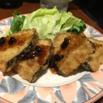 苓々菜館 - 豆鼓魚片