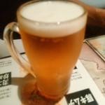 陳麻家 - 【2016.9.14(水)】エビスビール550円